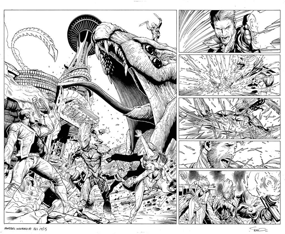 Monsters Unleashed # 1 pg14&15