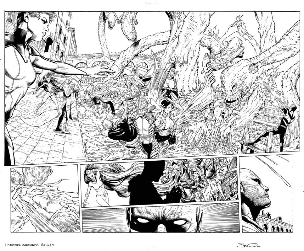 Monsters Unleashed # 1 pg16&17