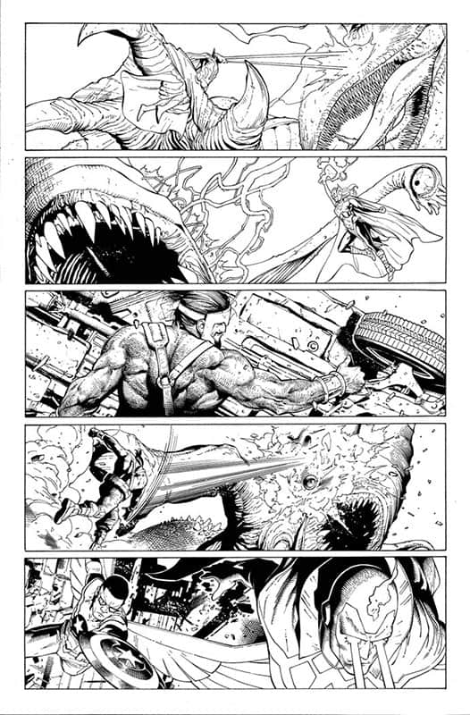 Monsters Unleashed # 1 pg 9