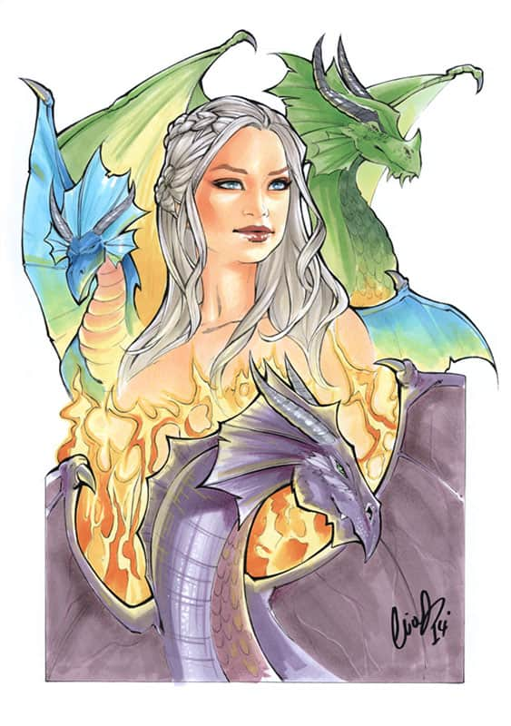 Mother of Dragons Daenerys Targaryen