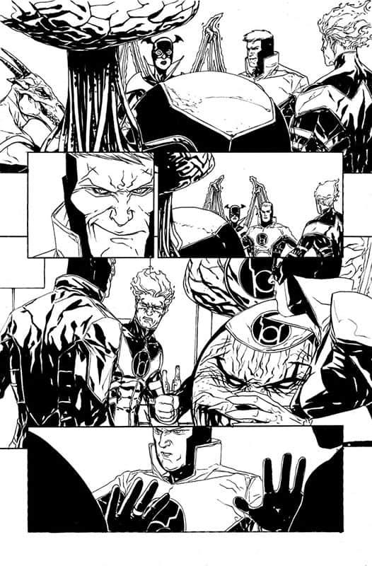 Red Lanterns #24 pg 5
