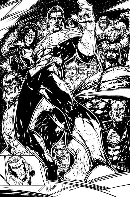 Red Lanterns #24 pg 6