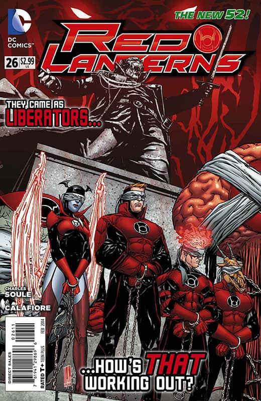 Red Lanterns #26