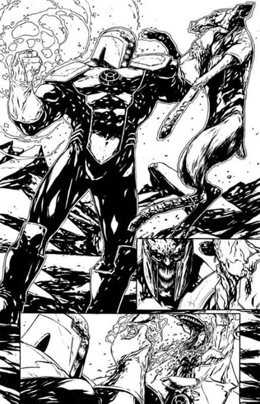 Red Lanterns # 21 pg 1