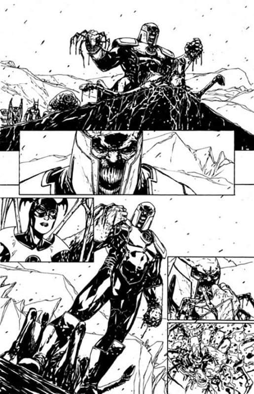 Red Lanterns # 21 pg 3