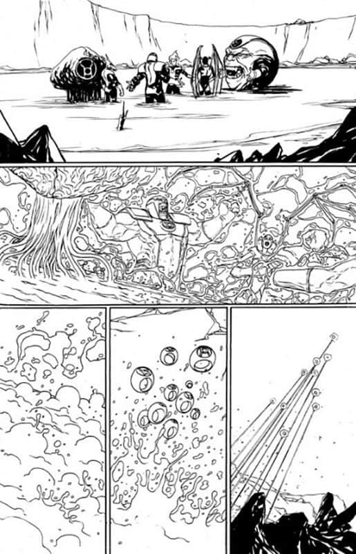 Red Lanterns # 21 pg 8