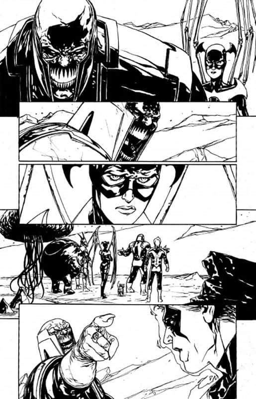 Red Lanterns # 21 pg 9