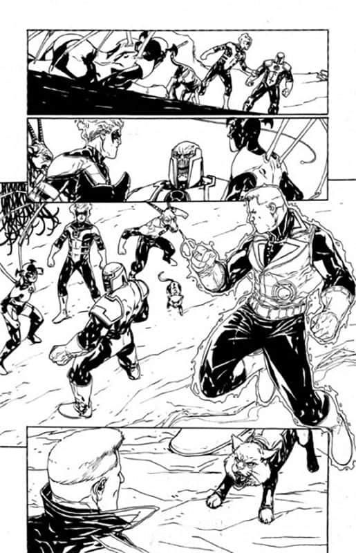 Red Lanterns # 21 pg14