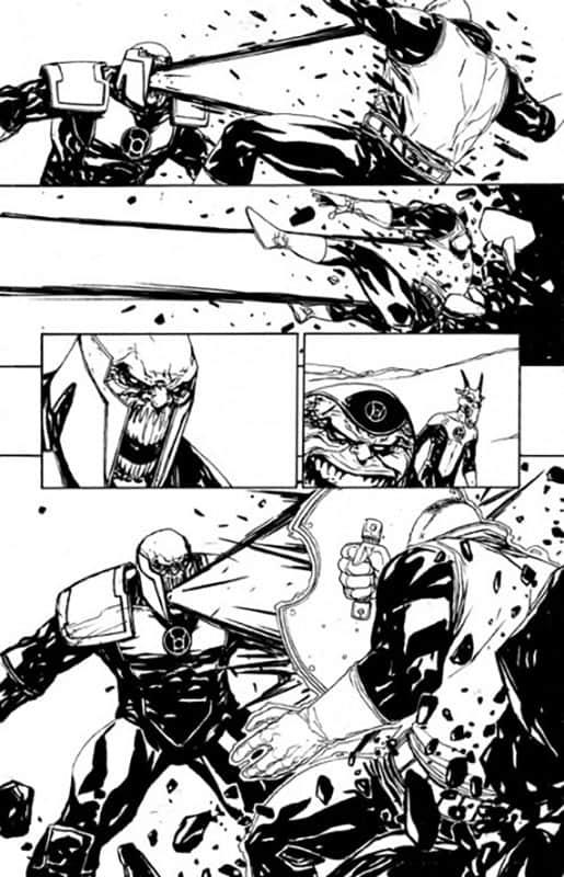 Red Lanterns # 21 pg16