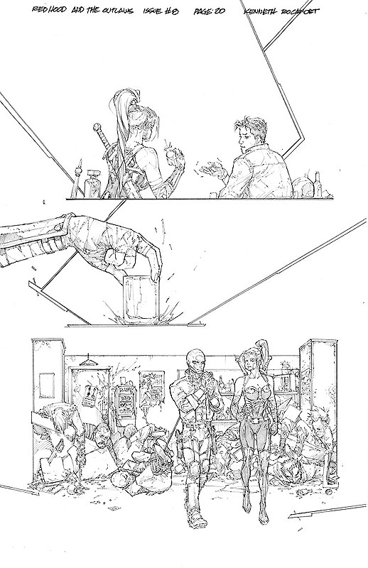 Red Hood & the Outlaws # 8 pg20