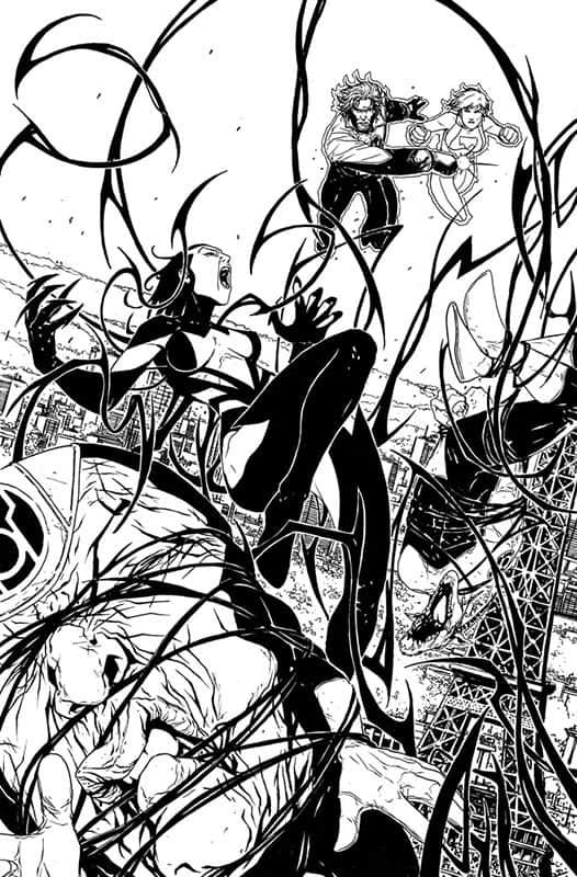 Red Lanterns #28 pg 1