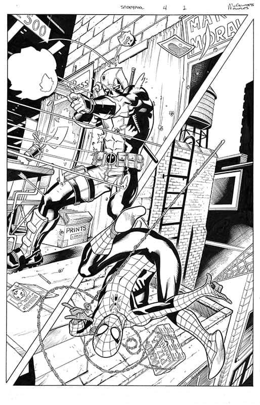 Spider-Man / DeadPool # 4 pg 1