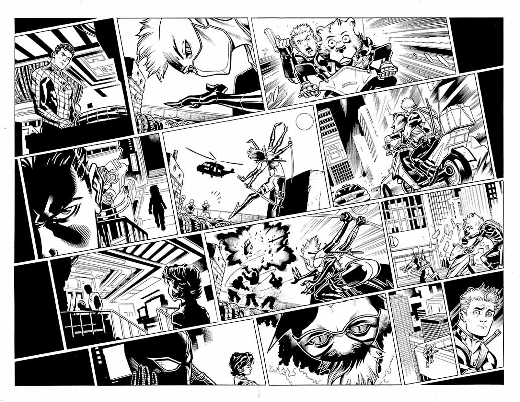Spider-Man / Deadpool #17 pg 2&3