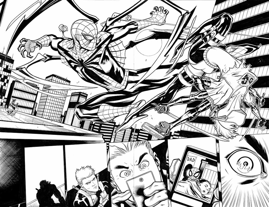 Spider-Man / Deadpool #17 pg 8&9