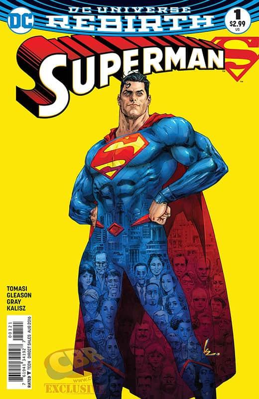 Superman # 1 Rebirth