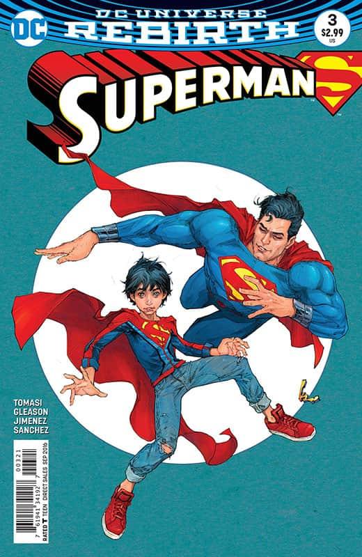 Superman # 3 Rebirth