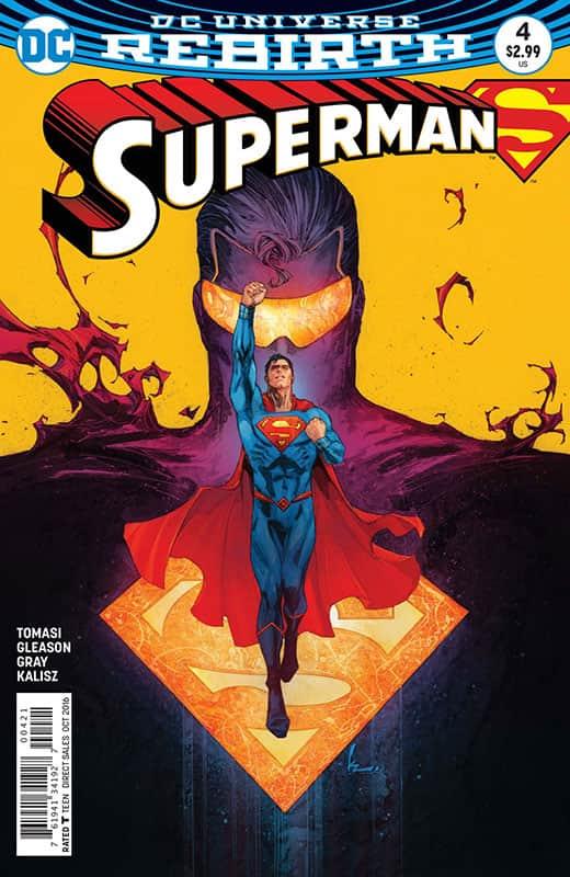 Superman # 4 Rebirth