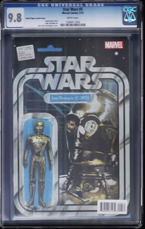 Star Wars # 5 C3PO CGC 9.8 WP Action Figure