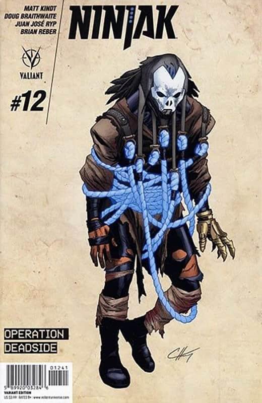 Ninjak #12 D