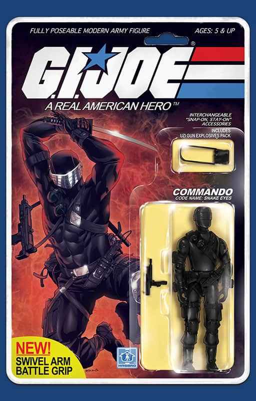 GI Joe: Real American Hero #215 Action Figure Cover