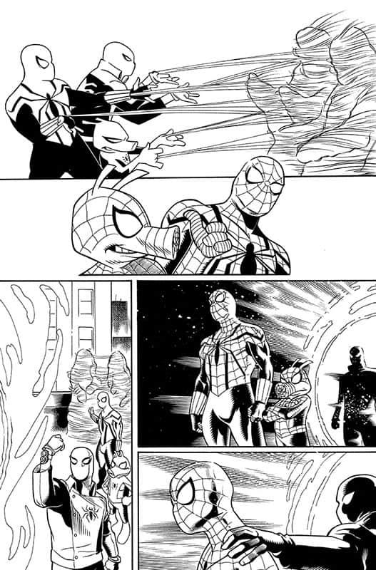 Spiderverse Team Up # 1 pg 9