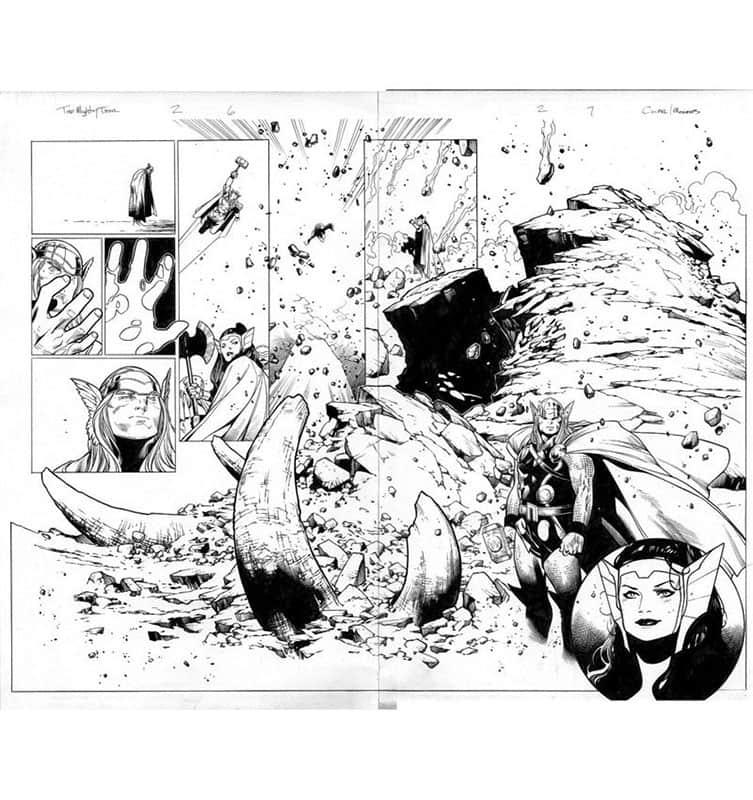 Thor #2 pg 6&7