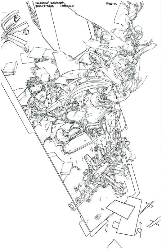 Teen Titans # 4 pg 2