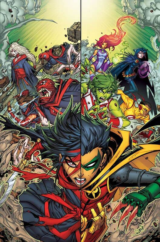 Teen Titans # 5 Rebirth