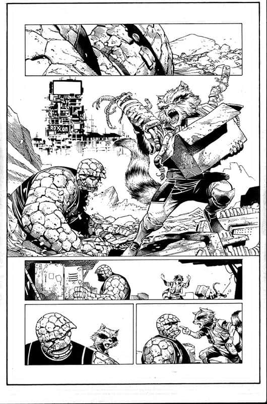Guardians of the Infinity # 1 pg 5