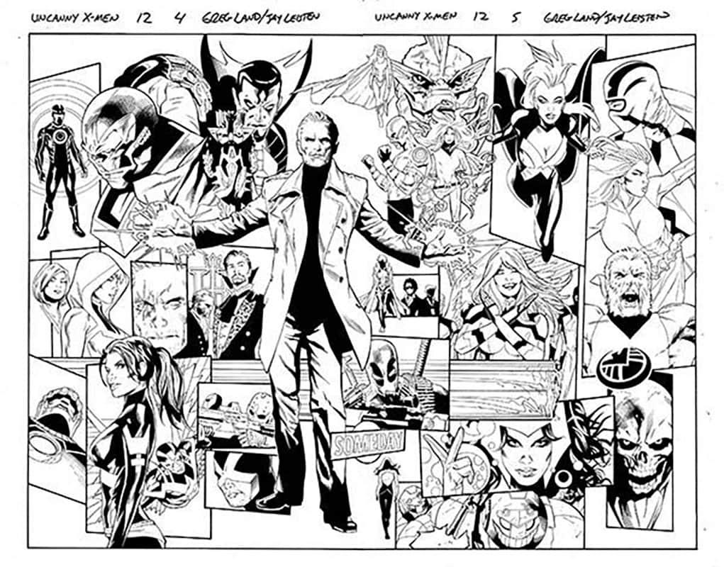 Uncanny X-Men #12 pg 4&5