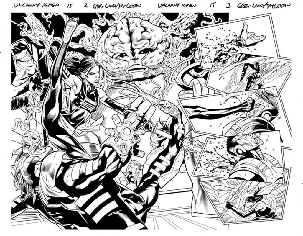 Uncanny X-Men #15 pg 2&3