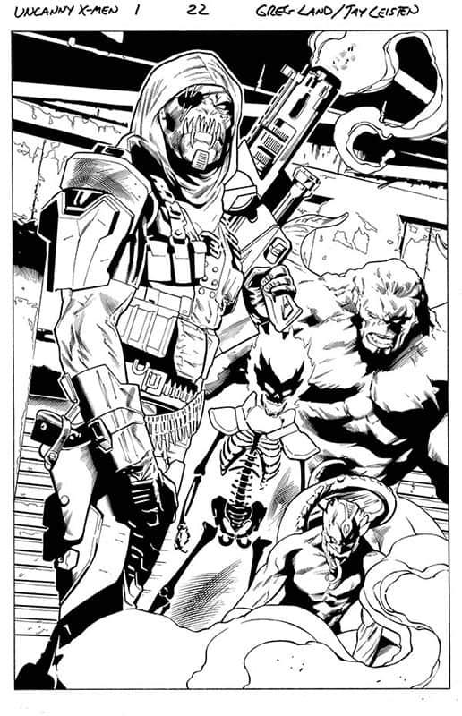 Uncanny X-Men # 1 pg22
