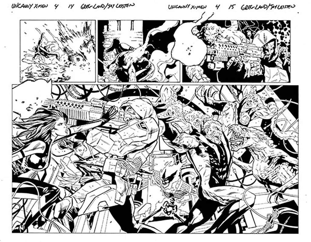 Uncanny X-Men # 4 pg14 & 15