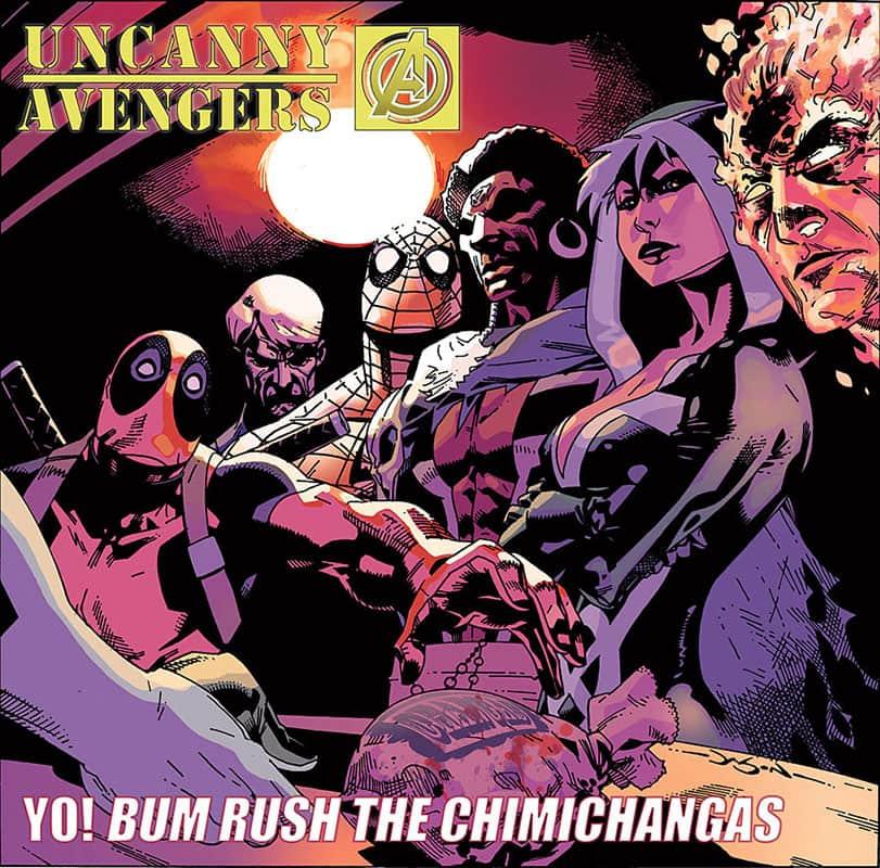 Uncanny Avengers # 1 Hip Hop Variant