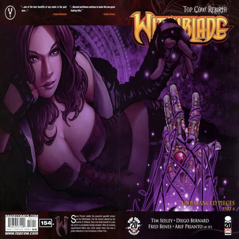 Witch Blade #154