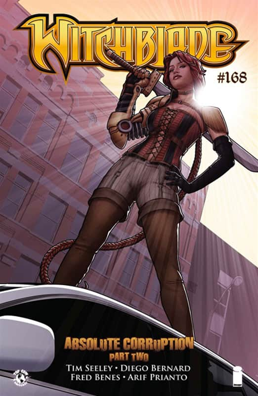 Witch Blade #168