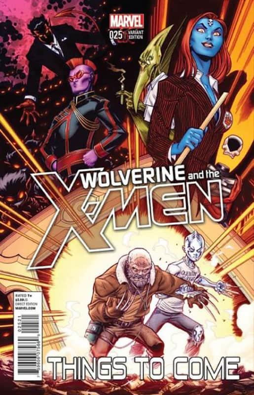 Wolverine & the X-Men #25