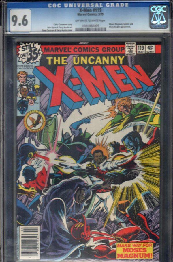 Uncanny X-Men #119 CGC 9.6 OW/WP