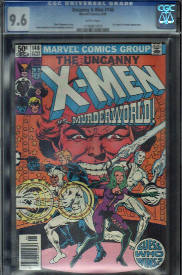 Uncanny X-Men #146 CGC 9.6 WP
