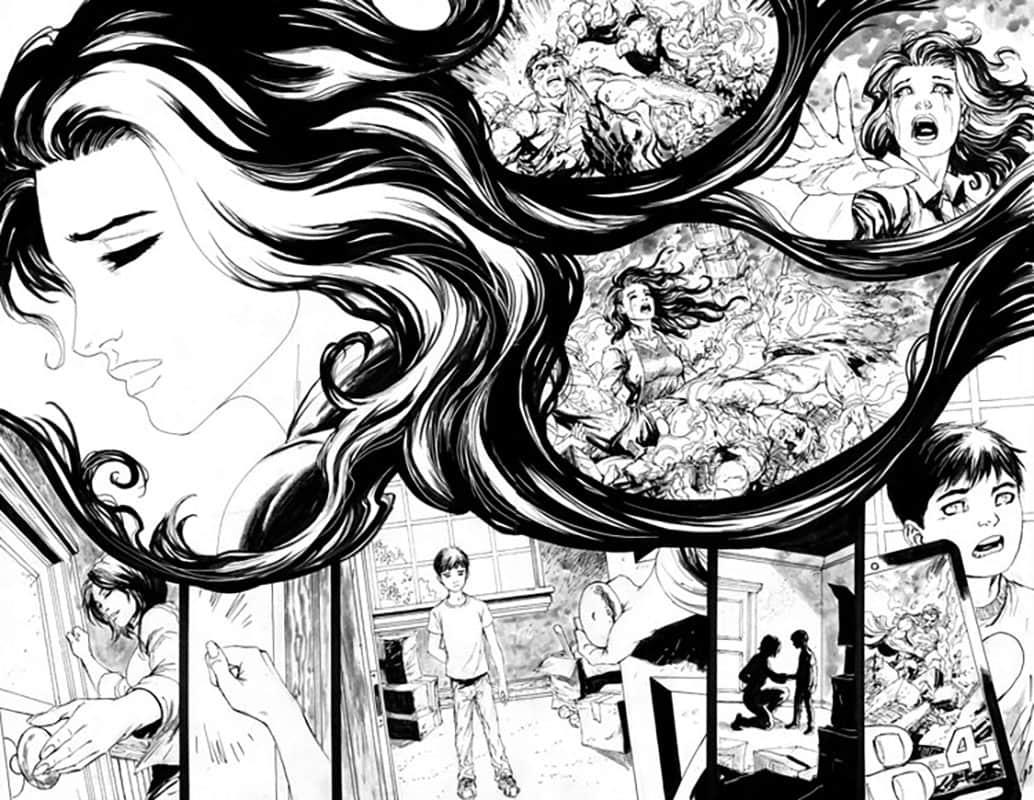 Action Comics #959 pg 2&3