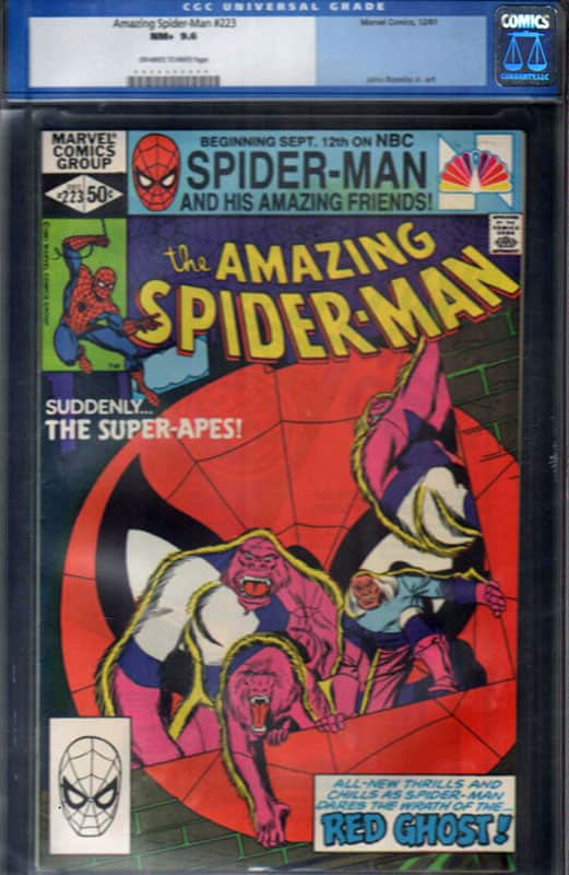 Amazing Spiderman #223 CGC 9.6 OW/WP