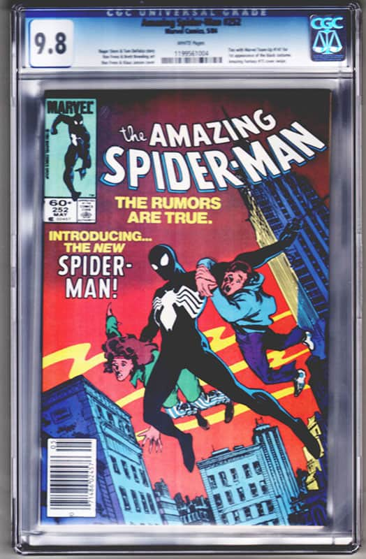 Amazing Spiderman #252 CGC 9.8 WP