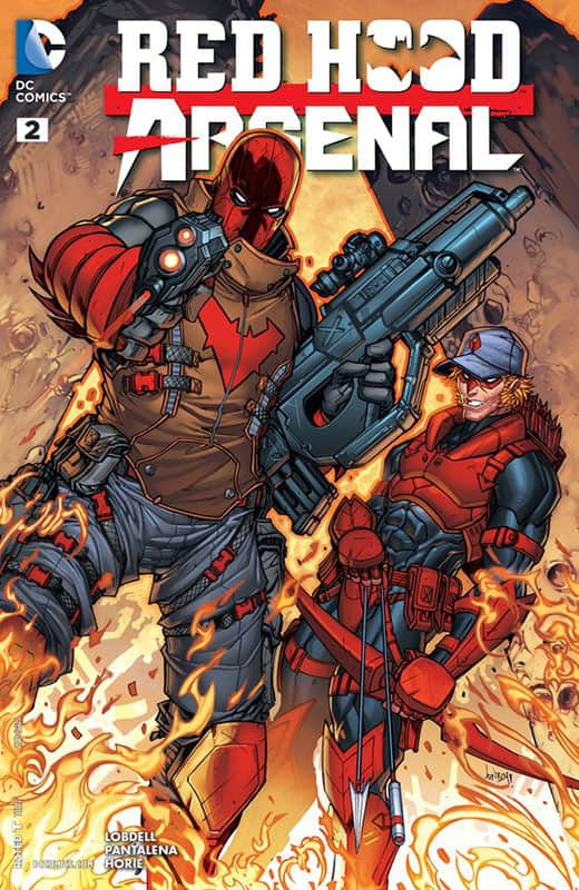 Red Hood / Aresenal # 2