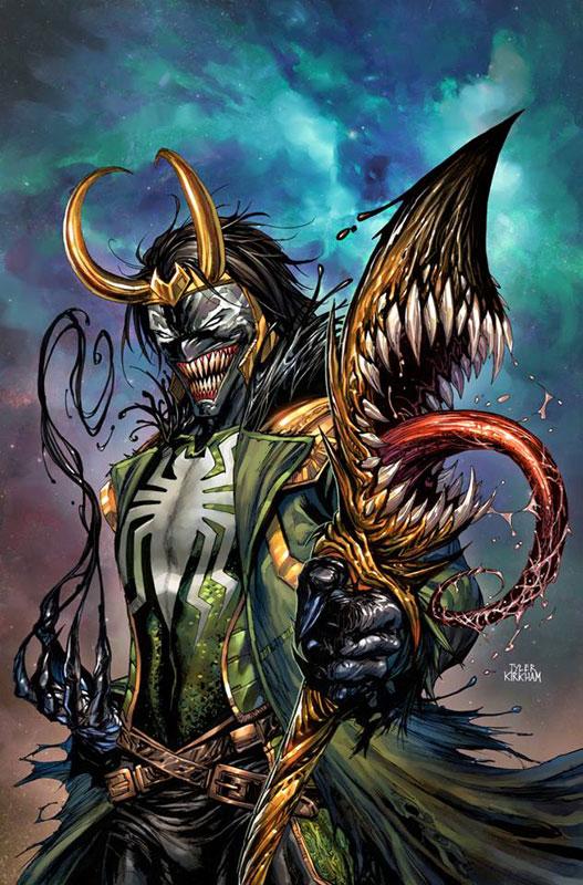 Avengers #11 Loki Venomized
