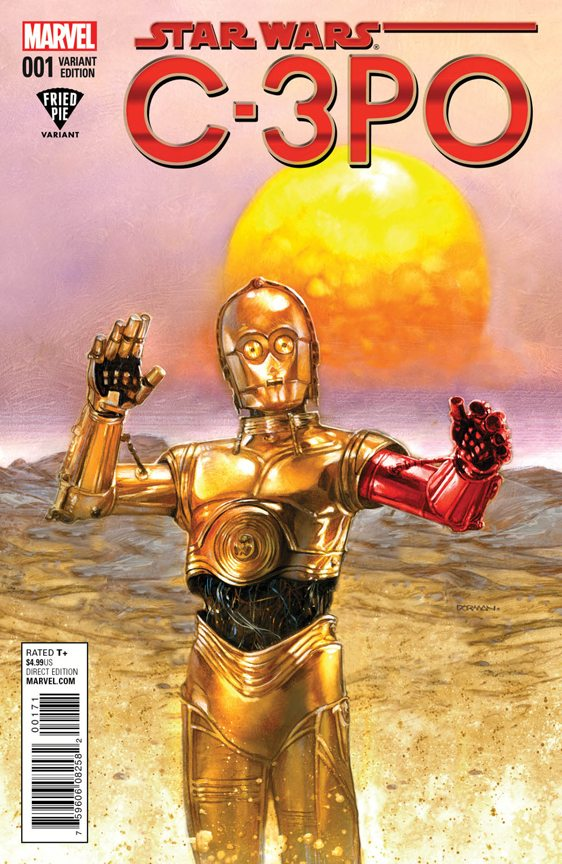C3PO # 1  Fried Pie Variant