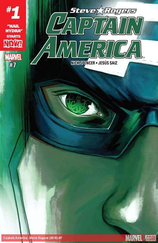 Captain America: Steve Rogers # 7