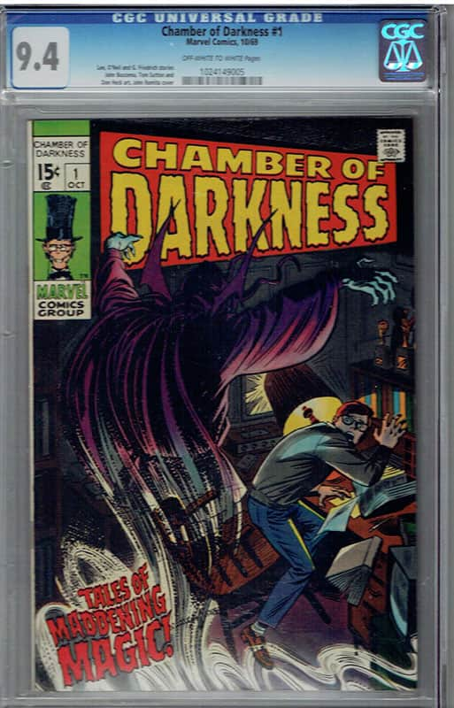 Chamber of Darkness # 1 CGC 9.4 OW/WP