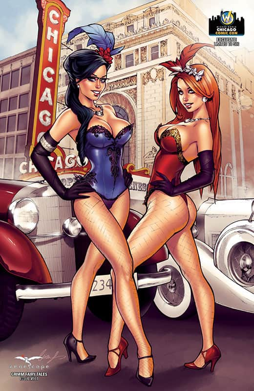Grimm Fairy Tales #101 Wizard Chicago Variant