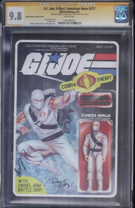 GI Joe: Real American Hero #217 CGC 9.8 WP Signature Series