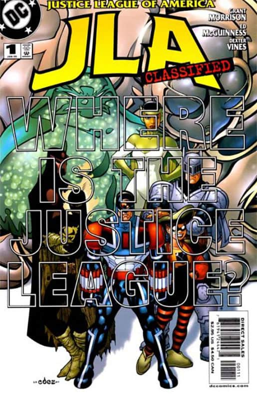 JLA CLASSIFIED #1 Ultra Marine